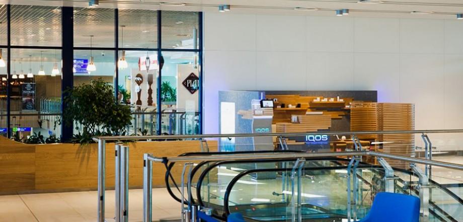 Călătoriile devin mai plăcute: În Aeroportul Chișinău a fost deschisă IQOS Lounge Zone