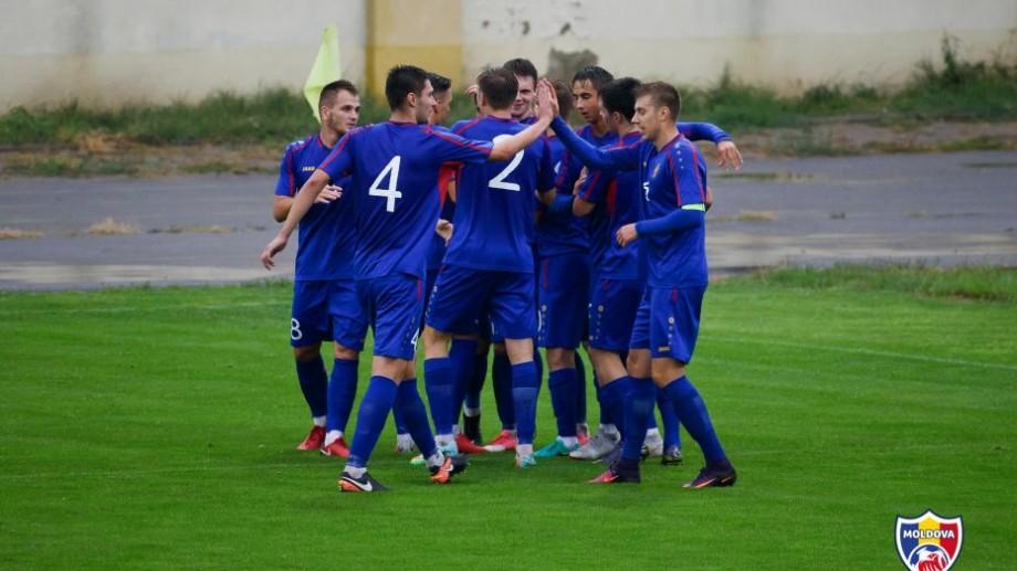 (foto, video) Naționala de tineret a Moldovei a obținut o nouă victorie la preliminariile Campionatului European de Fotbal
