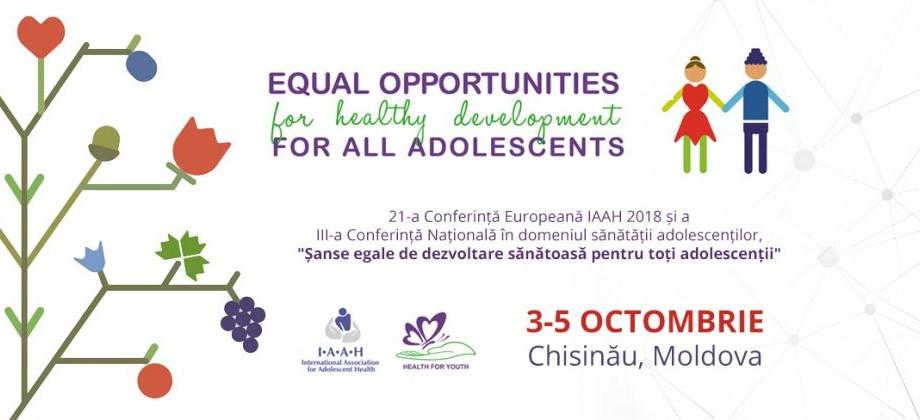 În Moldova se va desfășura, în premieră, Conferința Europeană în domeniul sănătății adolescenților. Care este programul și cum poți participa