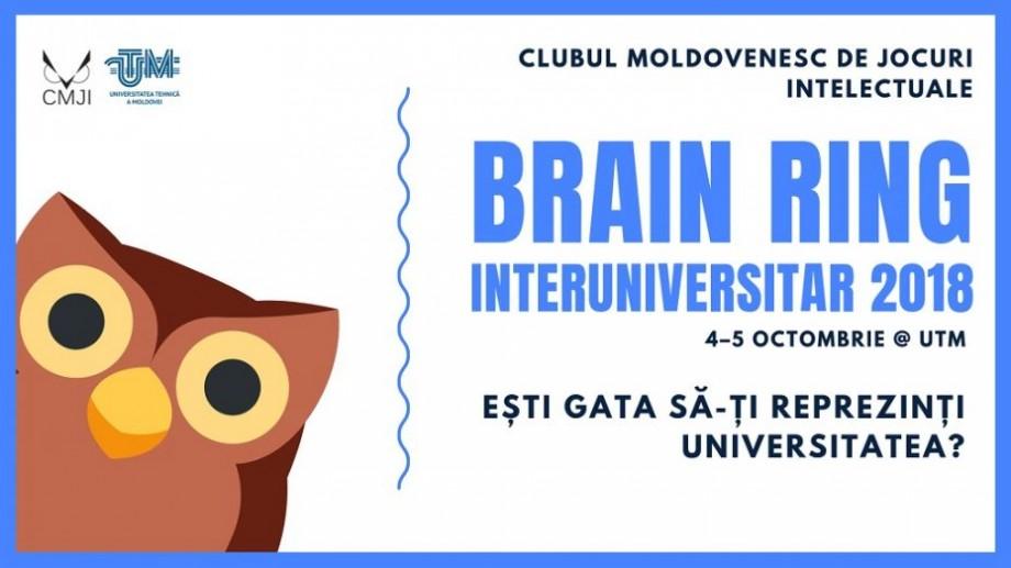 Îți plac jocurile intelectuale? Participă alături de colegii de universitate la Brain Ring Interuniversitar