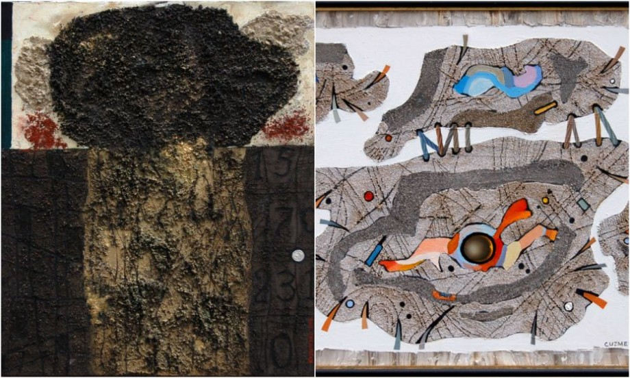 "(foto) De la galeria Tretyakov, pe pereții iHUB Chișinău. Artistul Victor Kuzmenko te invită la expoziția ""Ontological Art"""