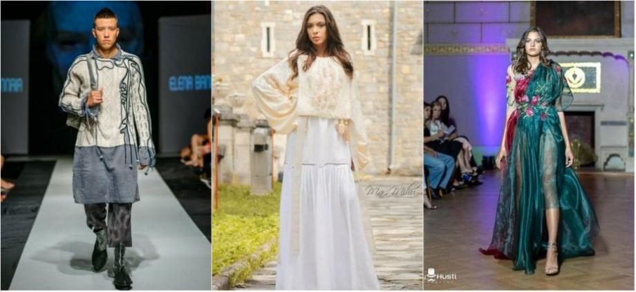 (galerie foto) Studentele de la Facultatea Arte Plastice și Design și-au etalat colecțiile vestimentare la Concursul Romanian Info Fashion Festival