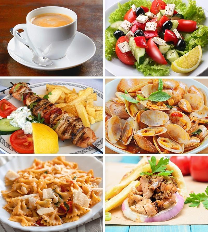 lunch grecia