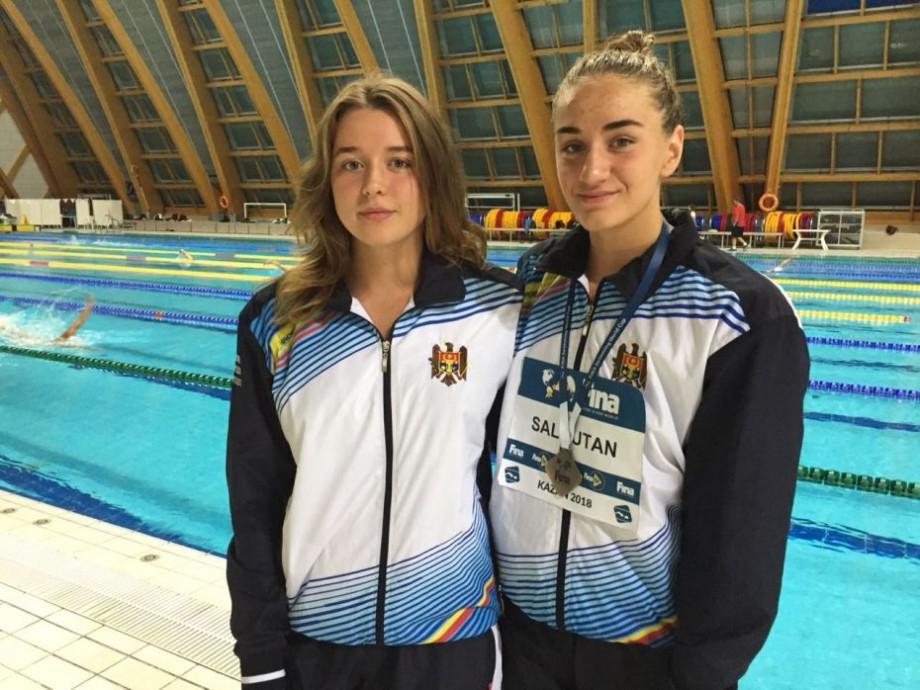 Înotătoarea din Moldova, Tatiana Salcuțan, a obținut două medalii și a înregistrat un nou record la Cupa Mondială din Kazan