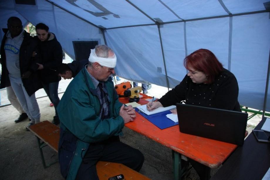 (foto) Victimele exploziei din sectorul Rîșcani pot solicita gratuit și în regim de urgență acte de identitate