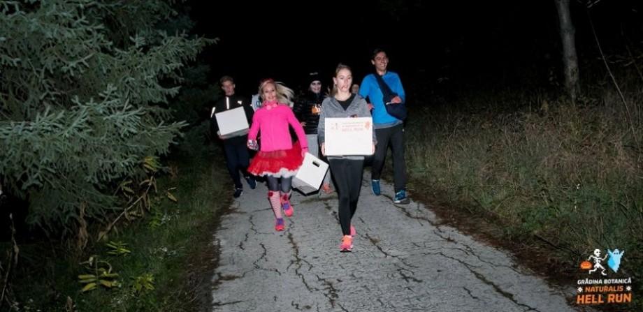 (foto) Ești pregătit de cea mai groaznică și amuzantă cursă nocturnă? Vezi ce surprize te așteaptă la Hell Run