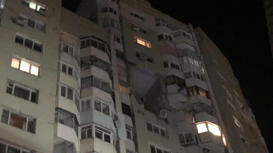(video) Cum arată blocul de locuit în urma exploziei de pe bd. Moscova în imaginile filmate cu drona