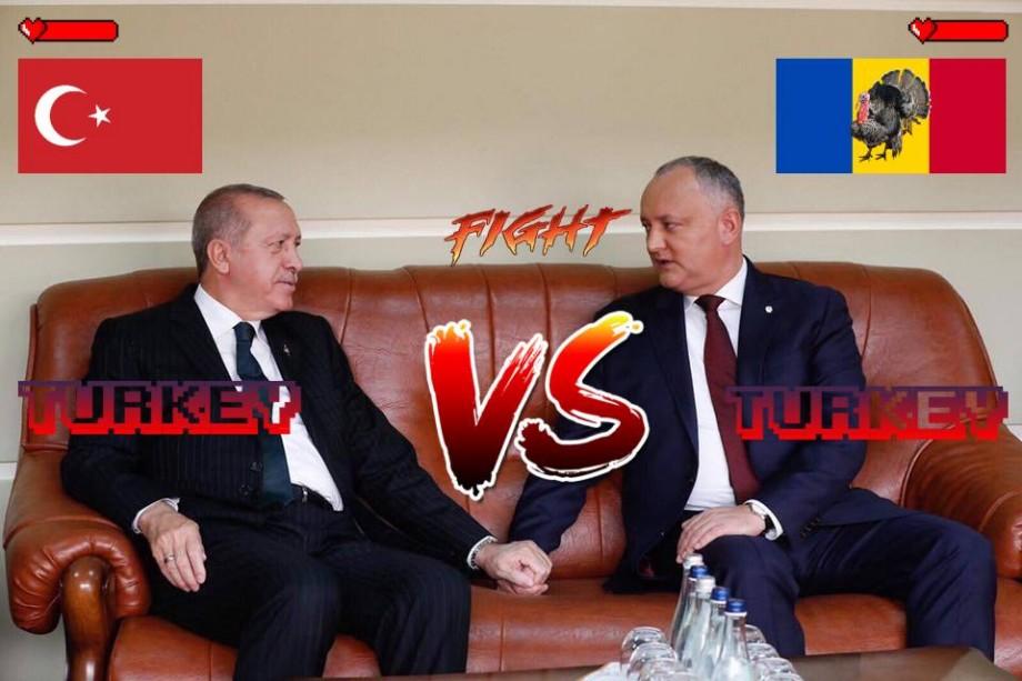 (foto) Rezumatul săptămânii prin prisma celor mai ingenioase meme-uri cu ocazia vizitei lui Erdogan în Moldova