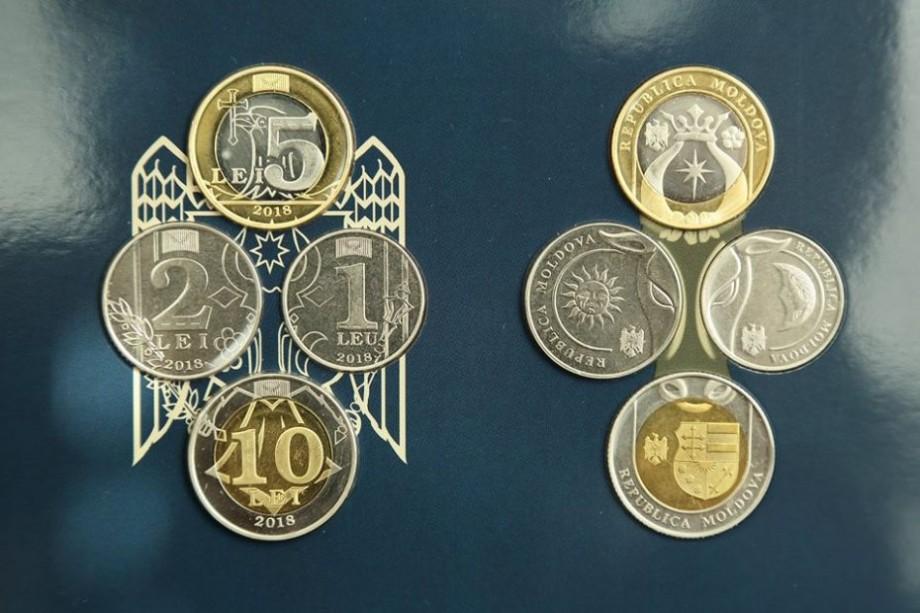 (foto) BNM pune la dispoziție vânzarea monedelor noi de 1,2, 5 și 10 lei. Cum și unde le puteți procura
