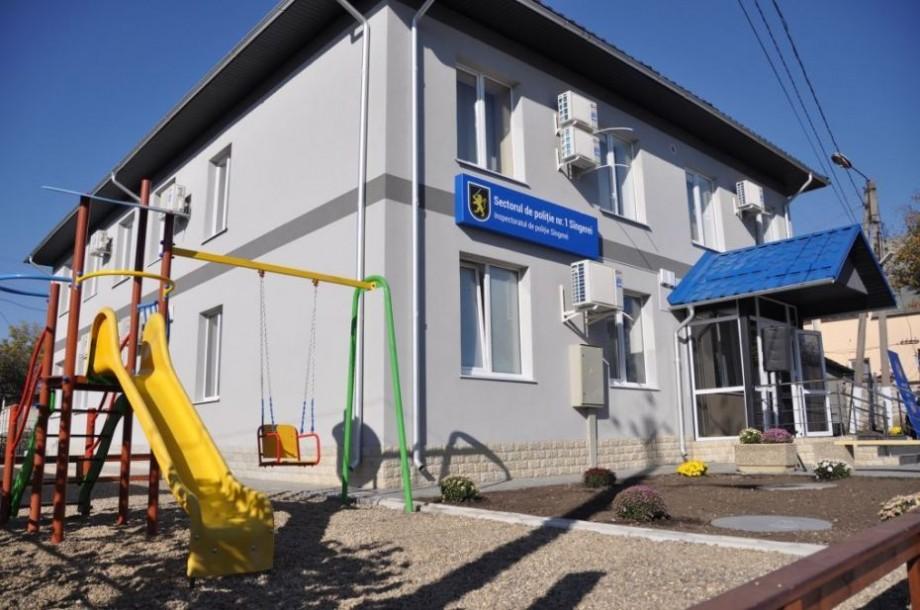 (foto) Sectorul de poliție din Sîngerei a fost reproiectat în corespundere cu principiile activității polițienești comunitare