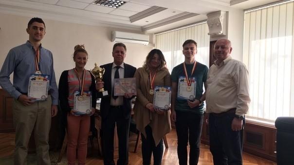 Echipa Universității de Stat din Moldova a câștigat Campionatul Național Universitar la Jocul de Dame