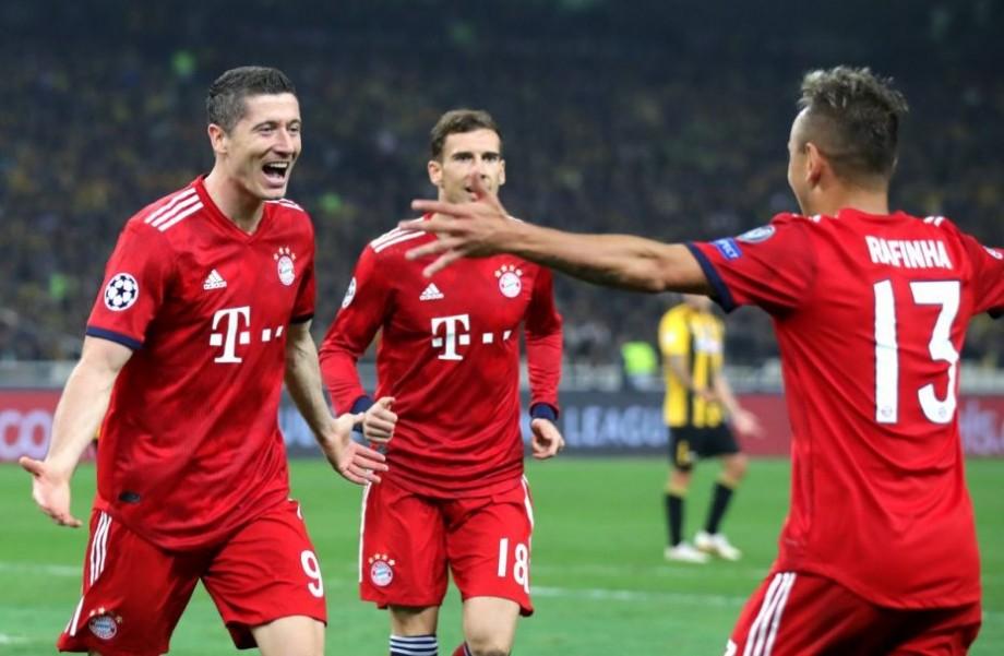 (video) UEFA Champions League. Bayern Munchen a marcat două goluri în 2 minute, iar Young Boys obține primul punct în grupe