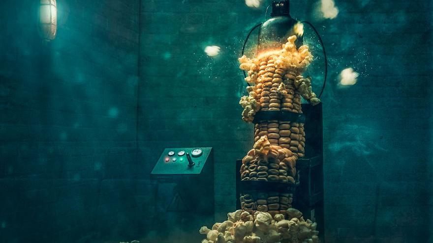 (foto, video) Dacă alimentele ar fi oameni. Un fotograf arată un alt mod de preparare a gustărilor obișnuite