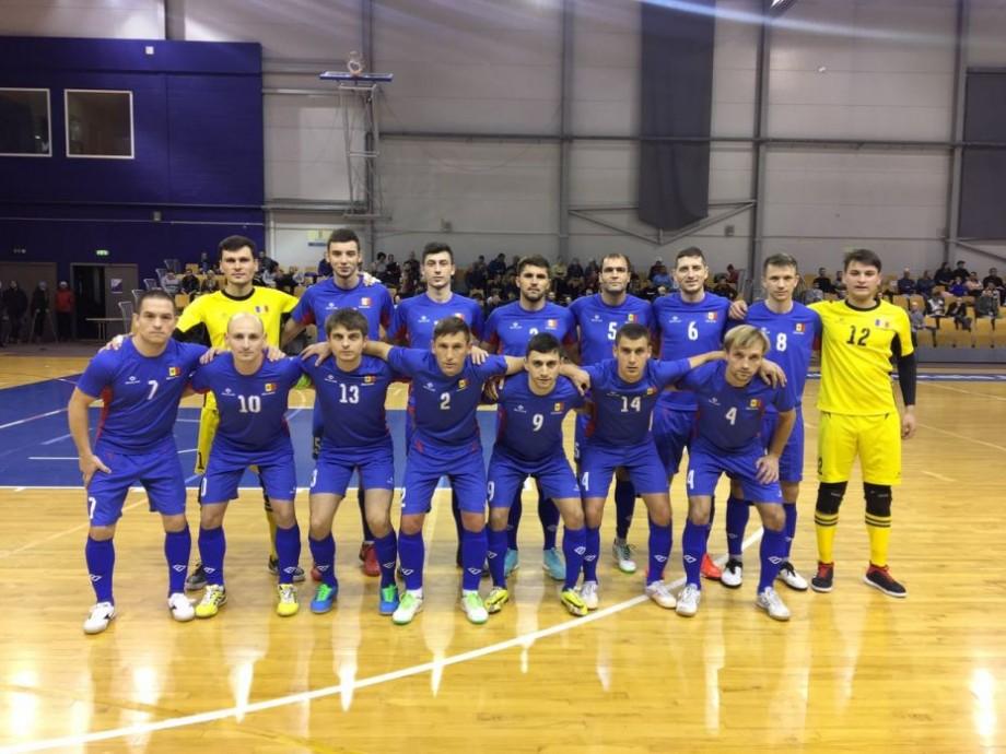 Naționala de futsal a Moldovei a debutat cu victorie la turneul internațional din Letonia. Care este următorul adversar al tricolorilor