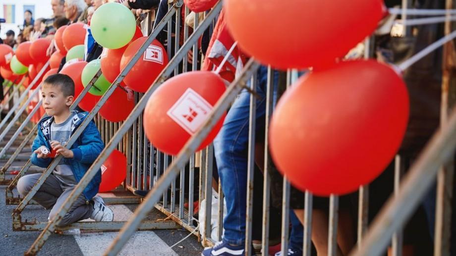 (FOTO) 15 fotografii care arată cum s-au distrat chișinăuienii de Ziua Orașului alături de Kaufland