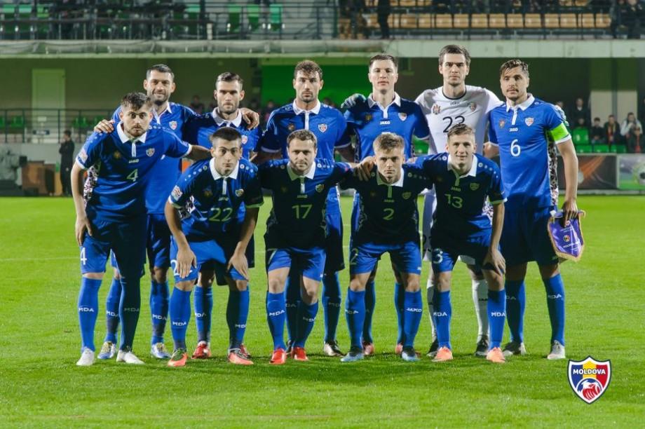 """Naționala Moldovei a urcat două poziții în clasamentul FIFA. Ce loc ocupă """"Tricolorii"""""""