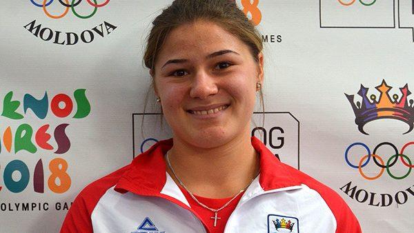 Atleta Nina Căpățînă, printre cele mai bune sportive la  aruncarea greutății la Jocurile Olimpice de tineret de la Buenos Aires