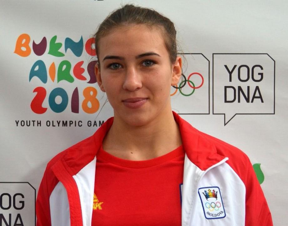 Luptătoarea moldoveancă, Irina Rîngaci, a obținut locul patru la Jocurile Olimpice de tineret