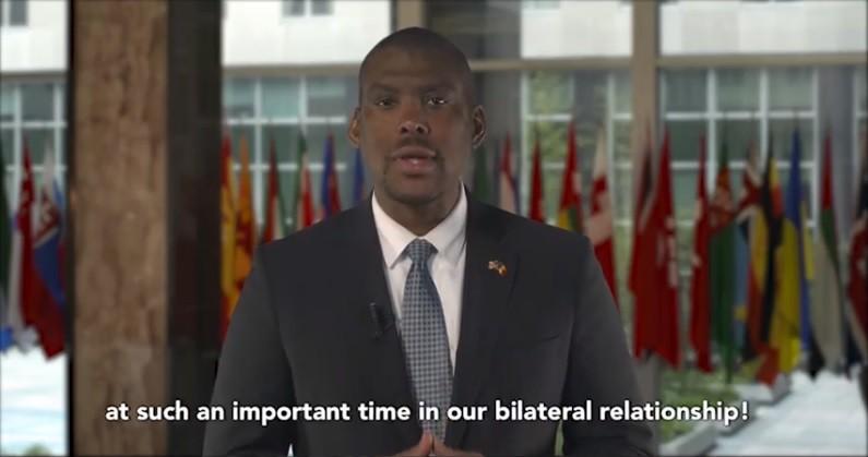 (video) Primul discurs în limba română al noului ambasador al SUA în Republica Moldova
