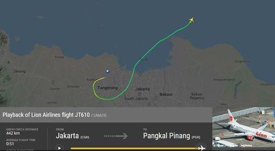 Un avion cu 188 de persoane la bord s-a prăbuşit în Indonezia