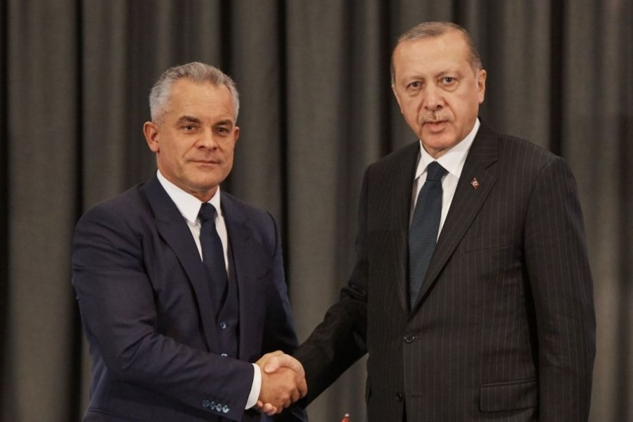 (video) Vlad Plahotniuc și Recep Erdogan au avut o cină de lucru. Ce subiecte au discutat