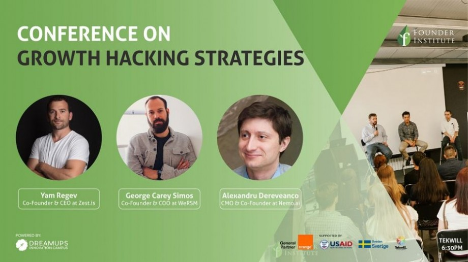 Participă la o conferință gratuită și află strategii de Growth Hacking sau cum să-ți dezvolți rapid și eficient afacerea ta