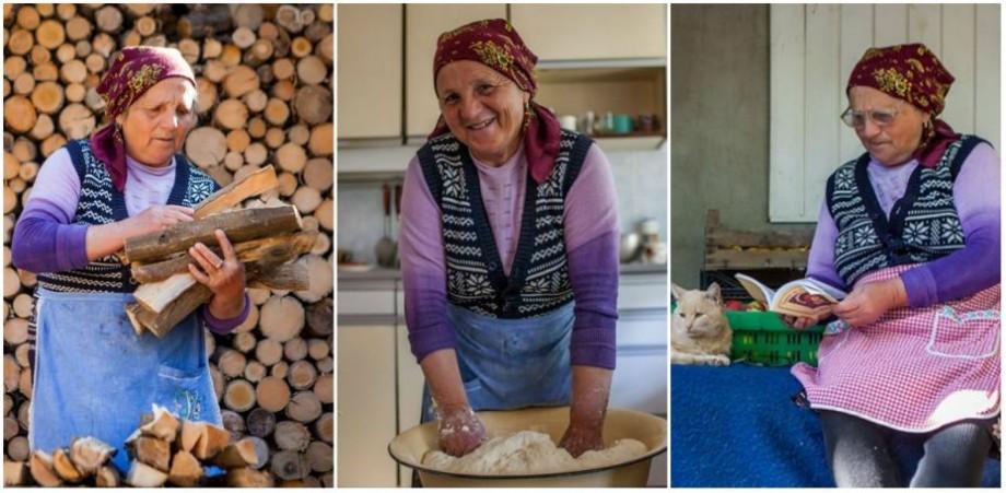 """(foto) """"Reprezintă dorul de părinți, dorul de casă, dorul de Moldova"""". Cum arată 24 de ore din viața mătușii Anica"""