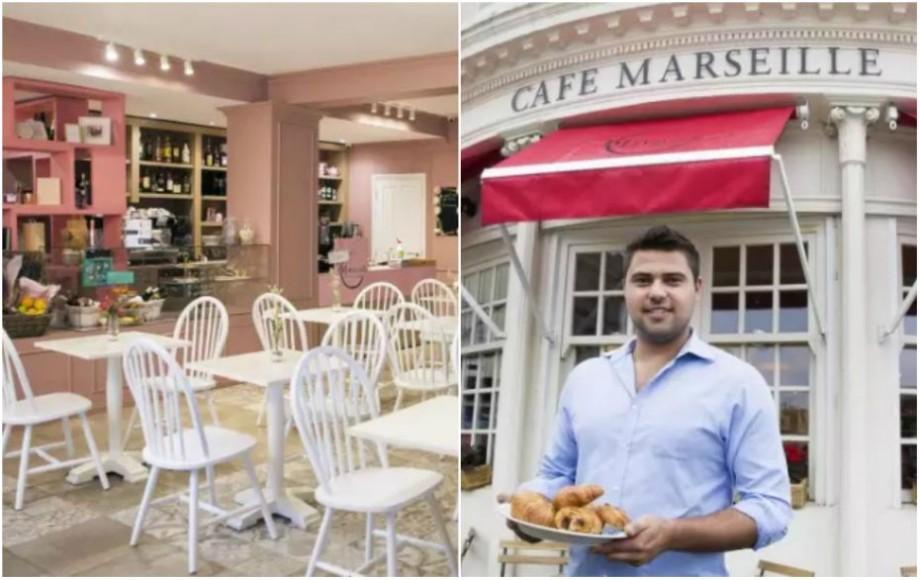 (foto) Afacere inspirată dintr-o poveste de dragoste. Un cuplu din Moldova a deschis o cafenea franceză în Anglia