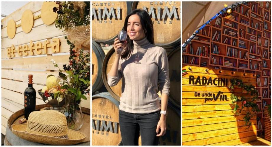 (foto) Vinăriile din Moldova s-au întrecut în creativitate. Cele mai originale decoruri montate în PMAN de Ziua Vinului