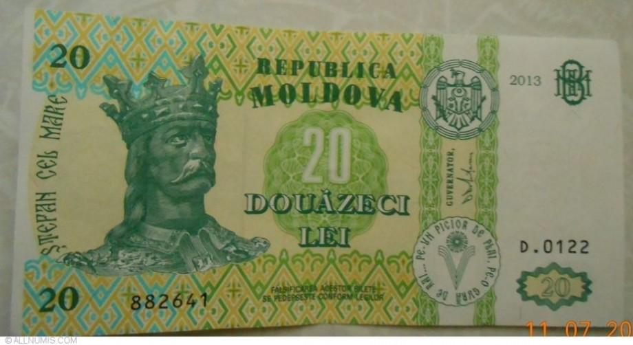 Lista organizațiilor din Moldova care au primit mai puțin de 20 de lei (1 euro) datorită legii 2%