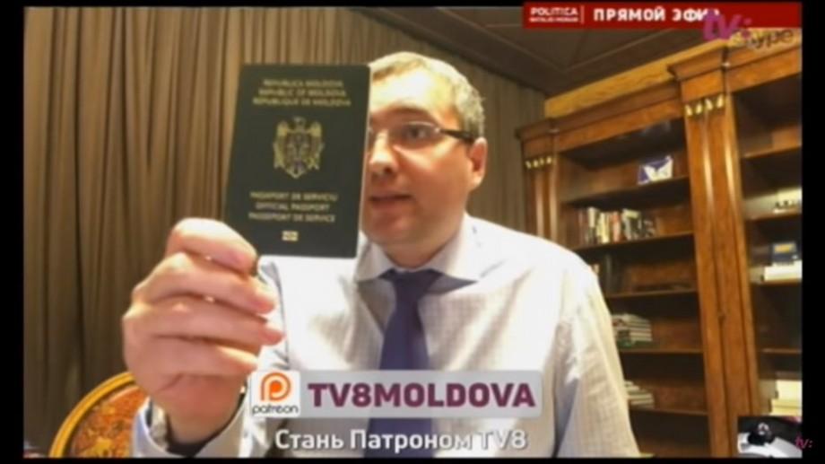 (video) Pașaportul moldovenesc al lui Renato Usatîi a fost anulat. Care este motivul