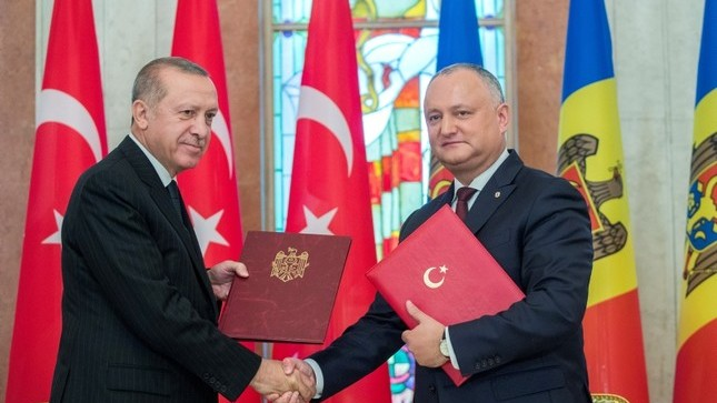 Cum a reflectat presa din Turcia vizita președintelui Erdogan în Republica Moldova
