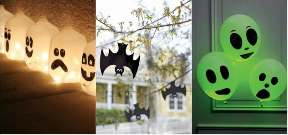 (foto, video) Decorațiuni de Halloween. Cum să le creezi chiar la tine acasă din obiecte simple