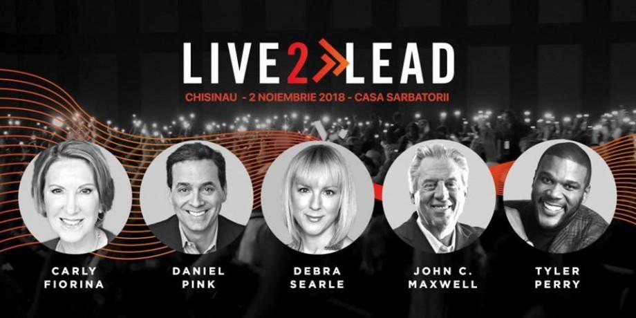 În premieră la Chișinău se va desfășura conferința LIVE2LEAD. Cum poți participa la eveniment