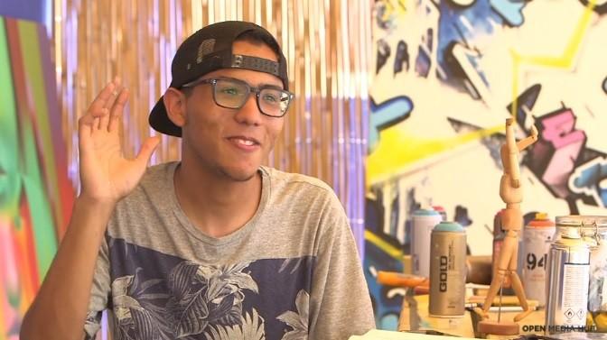 (video) Being 20. Povestea tânărului din Maroc care încearcă să convingă societatea că graffiti este o artă