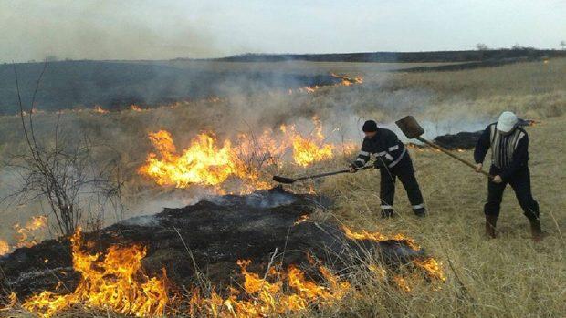 Peste 100 de hectare de vegetație au fost distruse în urma incendiilor. Pompierii au intervenit la lichidarea a 39 de cazuri