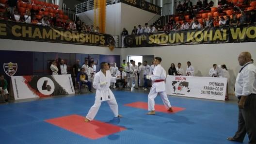 Peste 800 de sportivi participă în aceste zile la Campionatului Mondial de Karate Shotokan în Republica Moldova