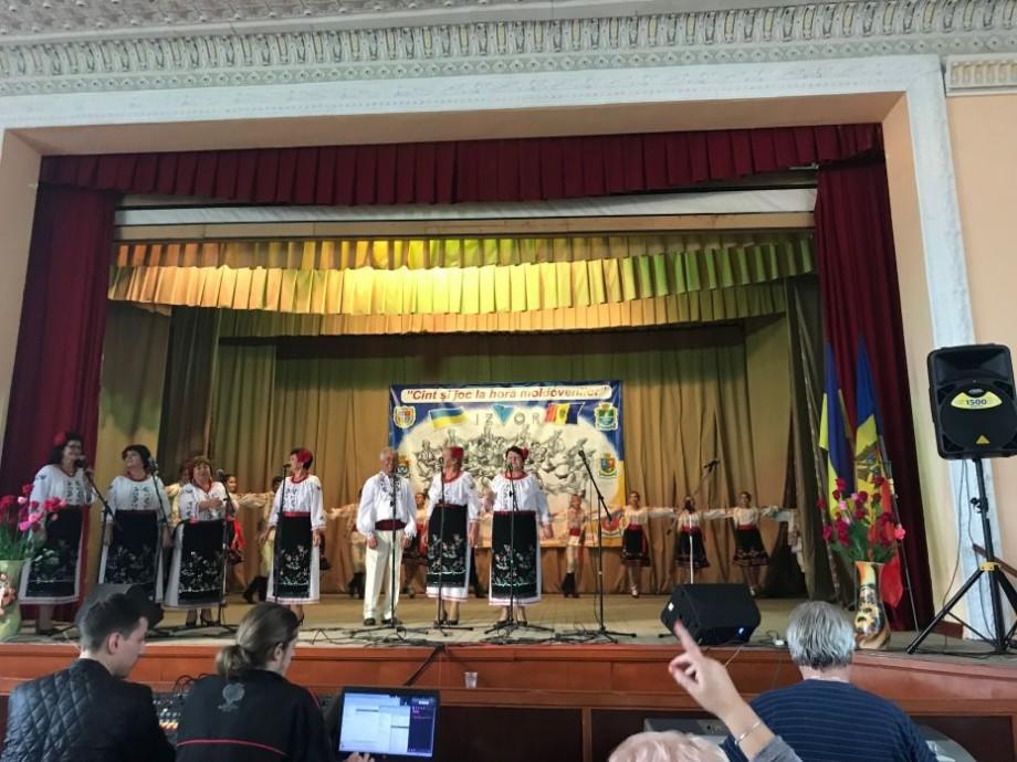 """În Odessa s-a desfășurat cel de-al 12-lea Festival Internațional al Culturii Moldovenești """"Cânt și Joc la hora Moldovenilor"""""""