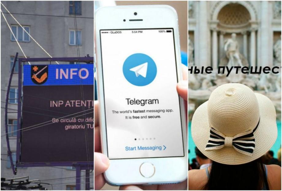 Lista canalelor de Telegram din Moldova pe care ar fi util să le urmărești (I)
