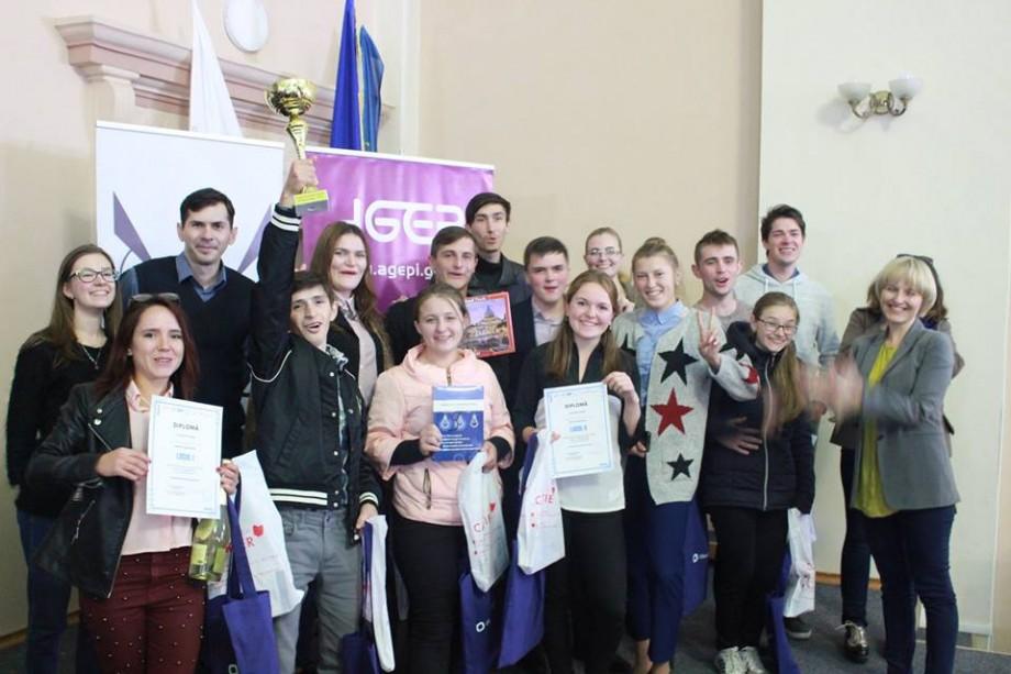 O echipă de la Universitatea de Stat din Tiraspol a devenit cea mai bună la concursul interuniversitar Brain Ring