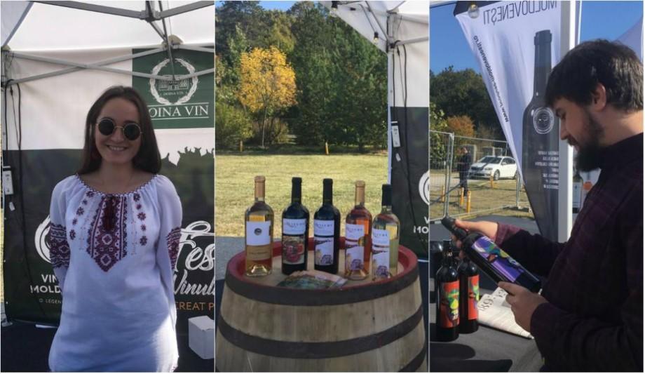 (foto) Boonika din Moldova va bate toba azi la Snagov. Cum se vede Festivalul Vinului Moldovei din România