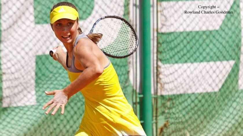 """Jucătoare de tenis din Moldova, Anastasia Vdovenco, s-a calificat în sferturile de finală a turneului """"$15,000 Sharm El Sheikh"""" din seria ITF Womens Circuit"""