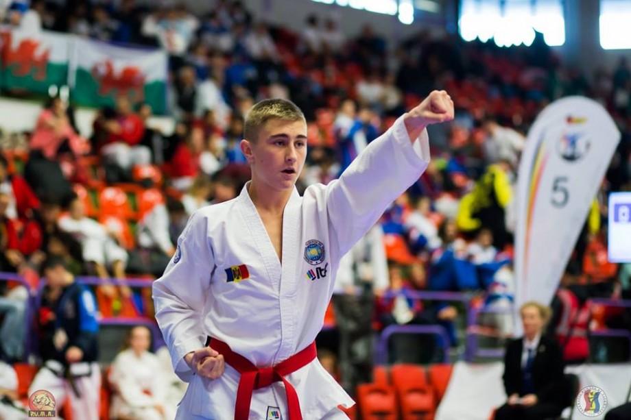 Un sportiv din Cahul a câștigat medalia de aur la Cupa Europeană de Taekwon-do. Cine este acesta