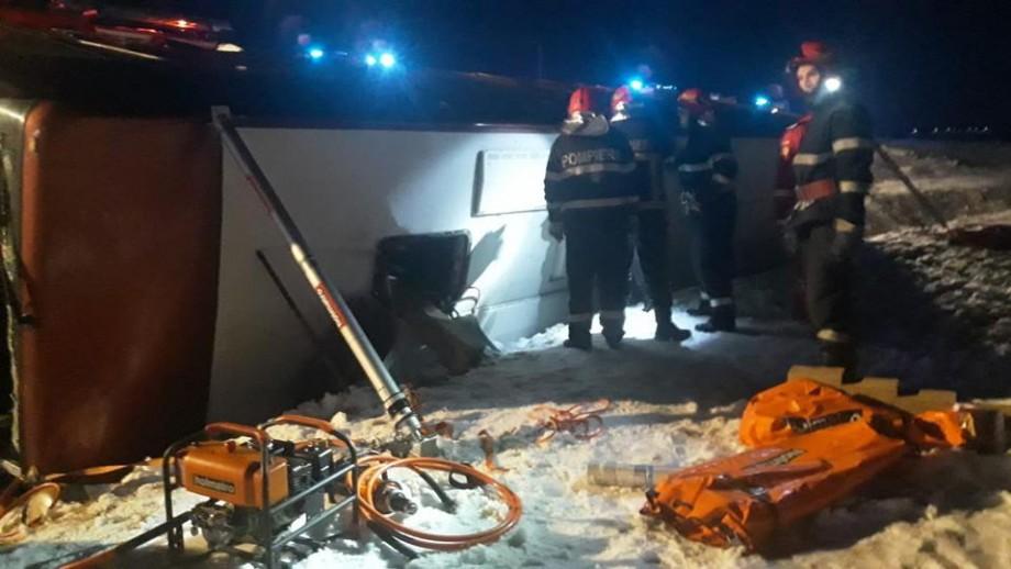 Cheltuielile pentru repatrierea femeii decedate în accidentul rutier de ieri seara vor fi acoperite de Guvern