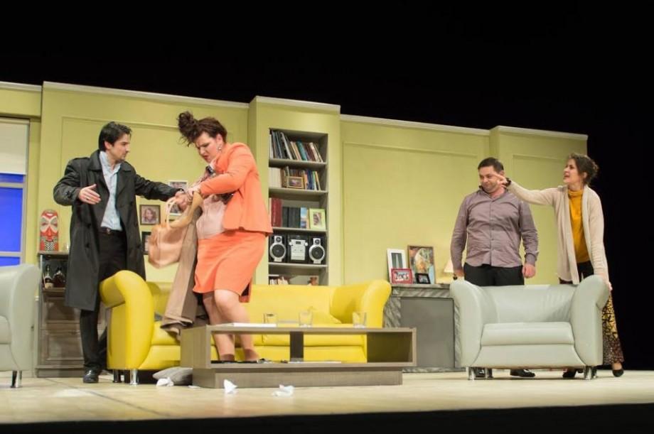 (video) Umor rafinat și replici explozive. Teatrul Național Eugene Ionesco te invită la comedia ,,Arta conviețuirii''