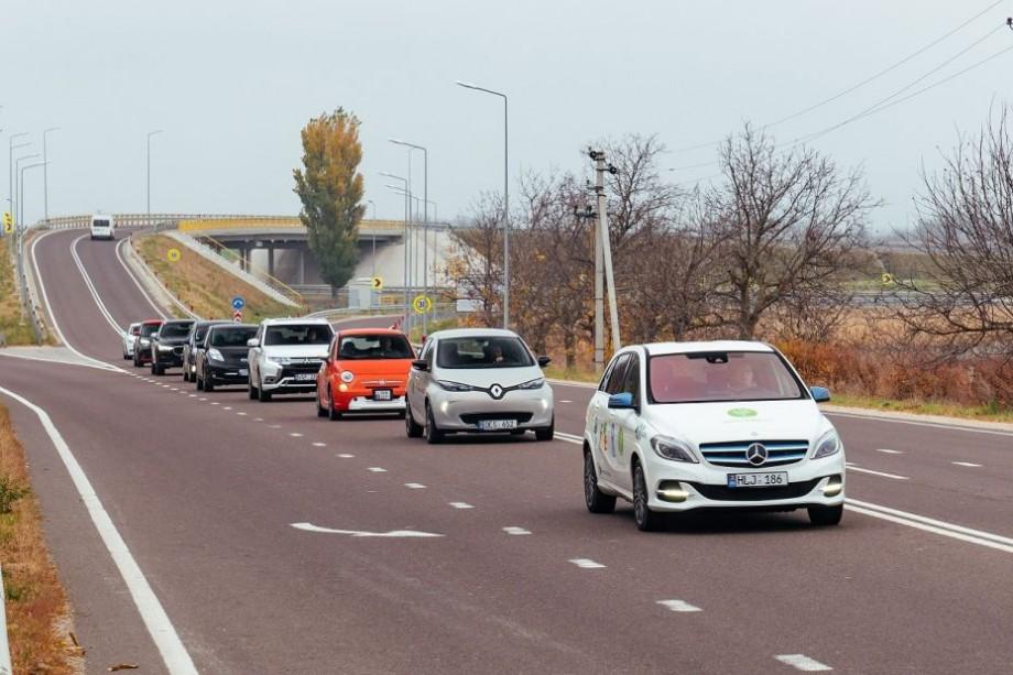 (foto) 9 automobile electrice, plug-in și hibride au parcurs 750 de km. Cum a decurs prima ediție a Moldova Hybrid Electro Maraton