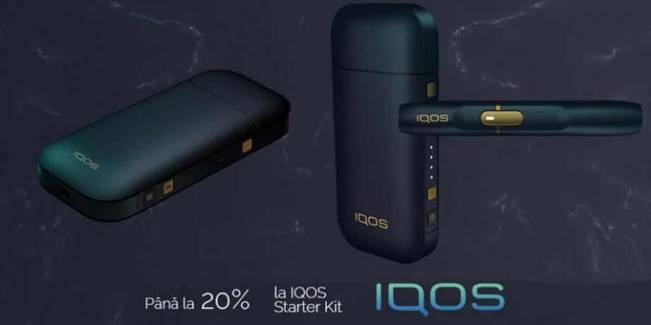 """De """"Noaptea Reducerilor"""", ai ofertă specială la IQOS Starter Kit"""