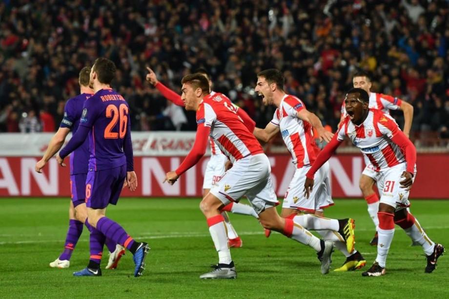 (video) UEFA Champions League. Campioana Serbiei învinge echipa Liverpool, iar Vanaken și Pavkov și-au trecut în cont câte o dublă
