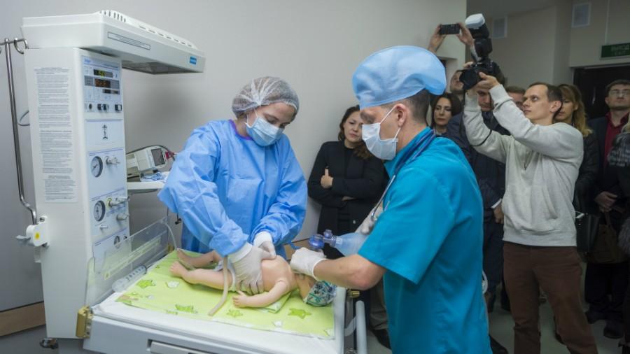 (foto) În incinta Centrului Mamei și Copilului din Tiraspol a fost deschis primul Centru de Instruiri Medicale. Cum arată acesta