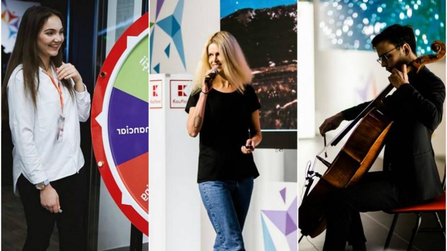 """(foto) 20 de speakeri și o călătorie imaginară în viitor. Cum a fost la Ignite Chișinău """"The Future"""" ediția a V-a"""